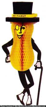 Mr. Peanut Hanging Display