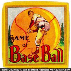 Game Of Baseball