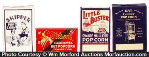 Vintage Pop Corn Boxes