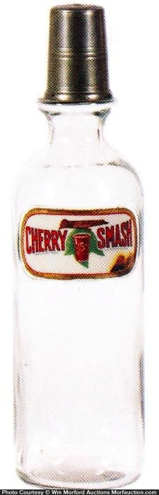 Cherry Smash Syrup Bottle