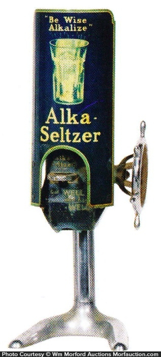 Alka Seltzer Dispenser