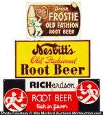 Vintage Root Beer Signs