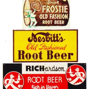 Vintage Root Beer Signs
