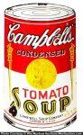 Campbell's Soup Porcelain Sign