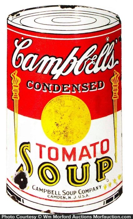 Campbell's Soup Porcelain Sign