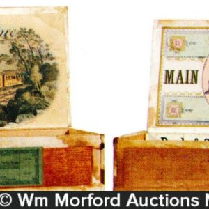 Railroad Cigar Boxes