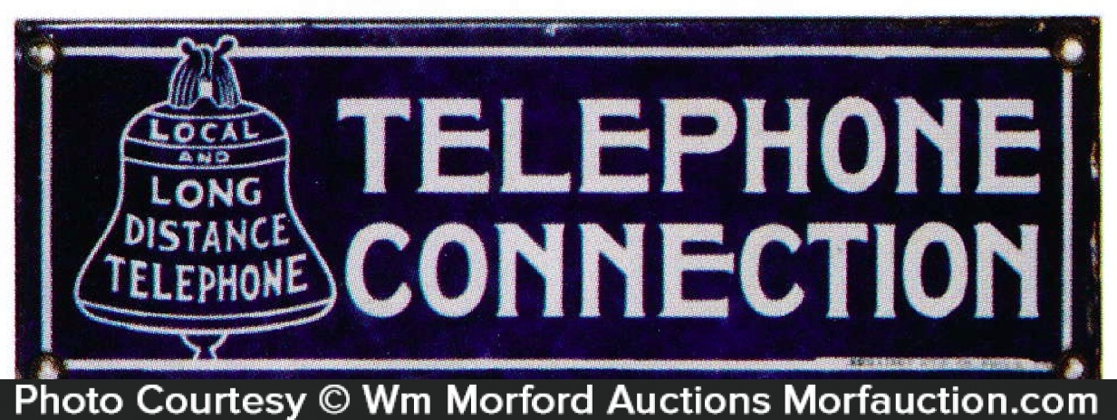 Telephone Connection Sign