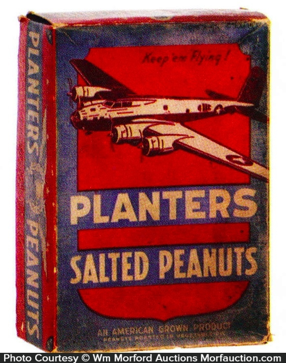 Planters Peanut Box