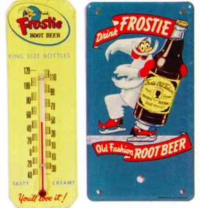 Frostie Root Beer Signs
