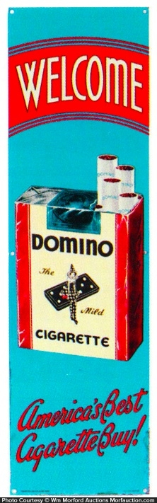 Domino Cigarettes Door Push