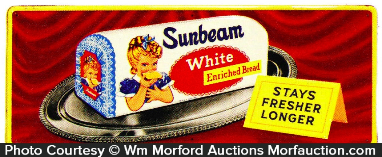 Sunbeam White Bread Sign