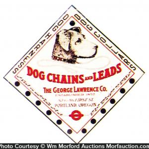 Dog Chain Display Sign