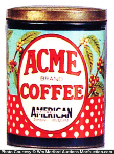 Acme Coffee Can