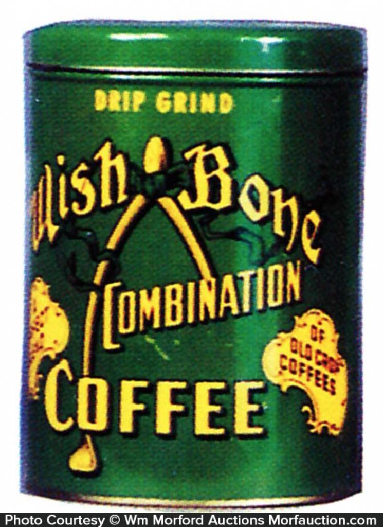 Wish Bone Coffee Can