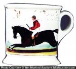 Jockey Shaving Mug