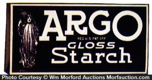 Argo Starch Display Box
