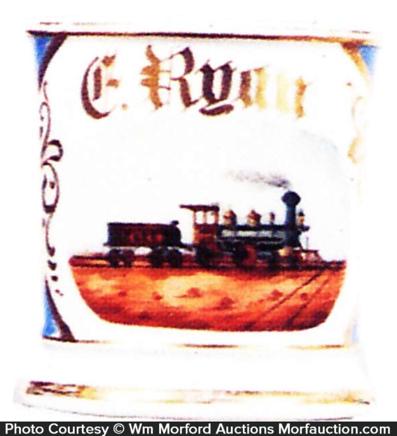 Ny & E Rail Road Shaving Mug