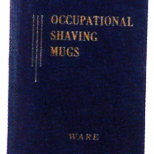 Occupational Shaving Mugs Reference Book