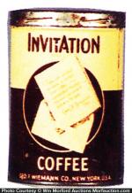 Invitation Coffee Can