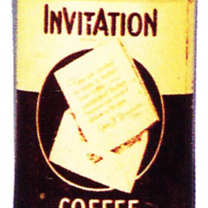 Invitation Coffee Can