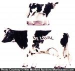 Delaval Advertising Cows