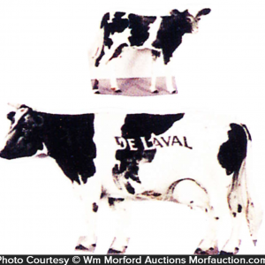 Delaval Advertising Cows