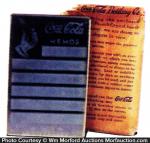 Coke Pocket Mirror Memo Pad