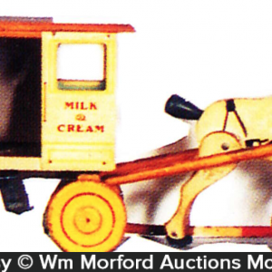 Borden's Horse Drawn Wagon Toy