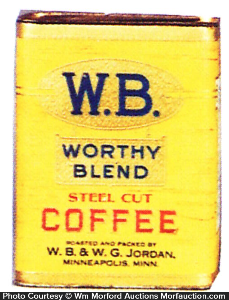 Worthy Blend Coffee Tin