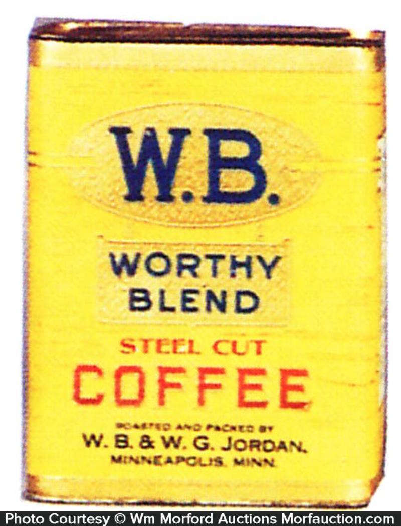 Worthy Blend Coffee Tin