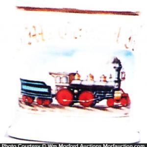 Locomotive Shaving Mug