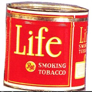 Life Tobacco Tin