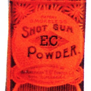 E.C. Shot Gun Powder Tin
