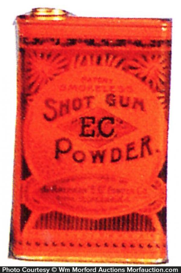 E.C. Shot Gun Powder Tin