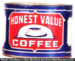 Honest Value Coffee Can