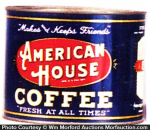 American House Coffee Tin