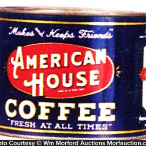 American House Coffee Tin