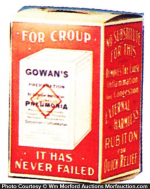 Gowan Pneumonia Preparation Box