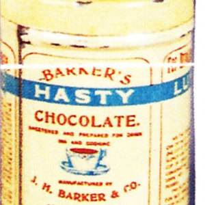 Barkers Hasty Chocolate Tin