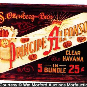 Principe Alfonso Cigar Sign