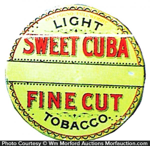Sweet Cuba Tobacco Tin