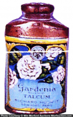 Gardenia Talcum Tin Sample