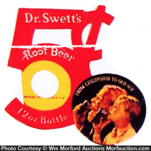 Dr. Swett's Root Beer Bottle Topper