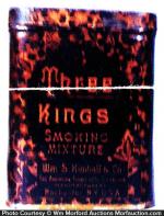 Three Kings Tobacco Tin