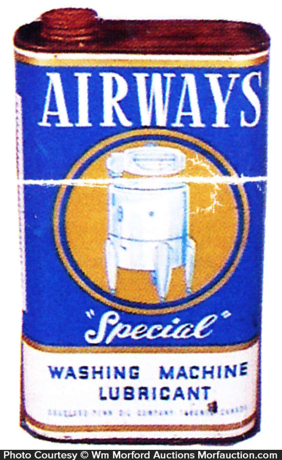 Airway's Special Washing Oil Tin