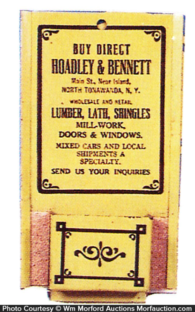 Broadley & Bennett Match Holder