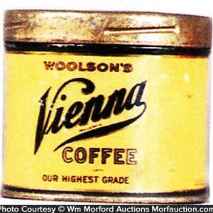 Vienna Coffee Sample Tin