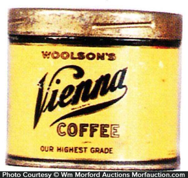Vienna Coffee Sample Tin