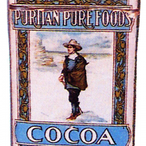 Puritan Pure Foods Cocoa Tin