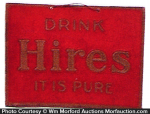 Drink Hires Sign